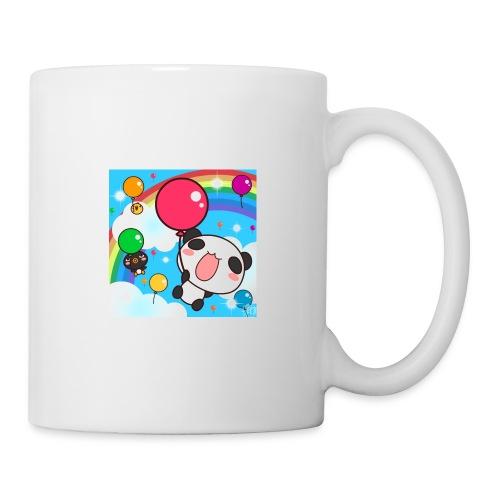 Rainbow with a panda - Coffee/Tea Mug