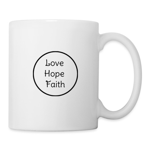Love Hope Faith - Coffee/Tea Mug