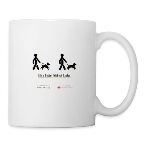 Life's better without cables : Dogs - SELF - Coffee/Tea Mug