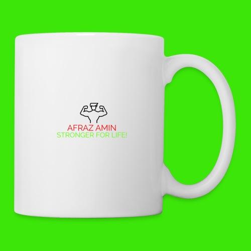 Afraz Amin - Stronger For Life - Coffee/Tea Mug