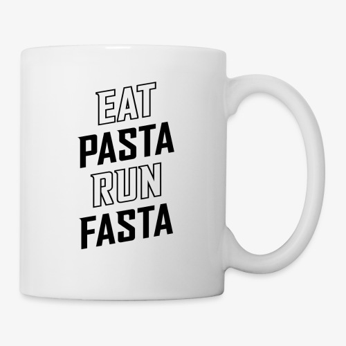 Eat Pasta Run Fasta v2 - Coffee/Tea Mug