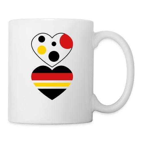 two hearts - Coffee/Tea Mug