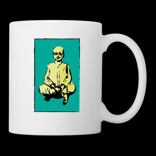 man sitting - Coffee/Tea Mug