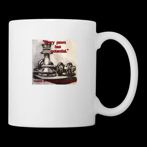 Raised In Game Pawn - Coffee/Tea Mug