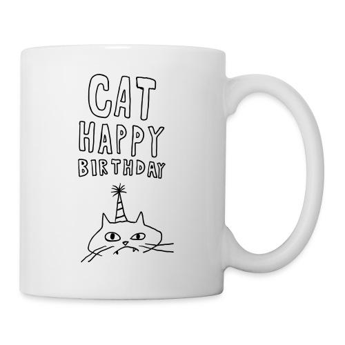 Cat Happy Birthday Collection - Coffee/Tea Mug