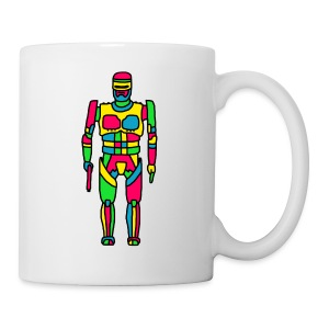 Cartoon Robocop in Color - Coffee/Tea Mug