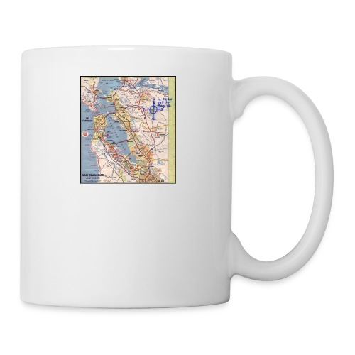 Phillips 66 Zodiac Killer Map June 26 - Coffee/Tea Mug