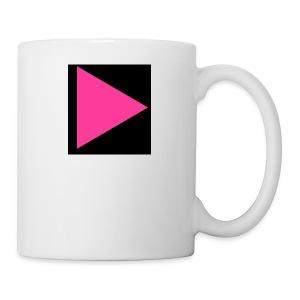 Pink-play button - Coffee/Tea Mug