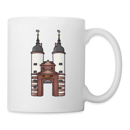 Bridge gate Heidelberg, FRG - Coffee/Tea Mug