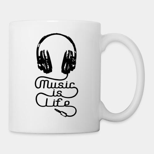musicislife - Coffee/Tea Mug