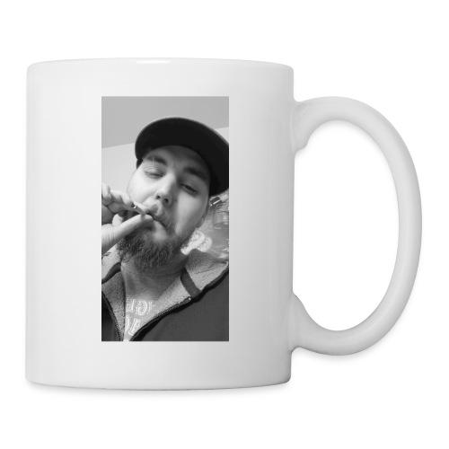 Turupxprime Hoots black n white merch line. - Coffee/Tea Mug