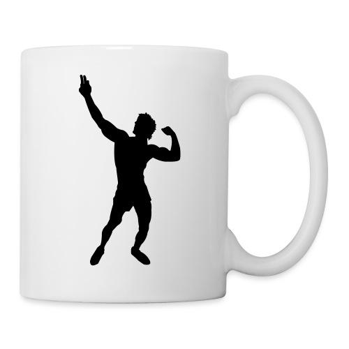 Zyzz Silhouette vector - Coffee/Tea Mug