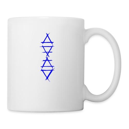 Alchemy symbol 4 elements blue - Coffee/Tea Mug
