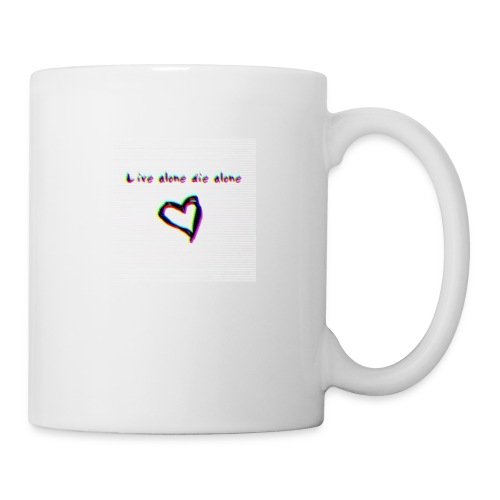 Lil Manny Live Alone Die Alone - Coffee/Tea Mug
