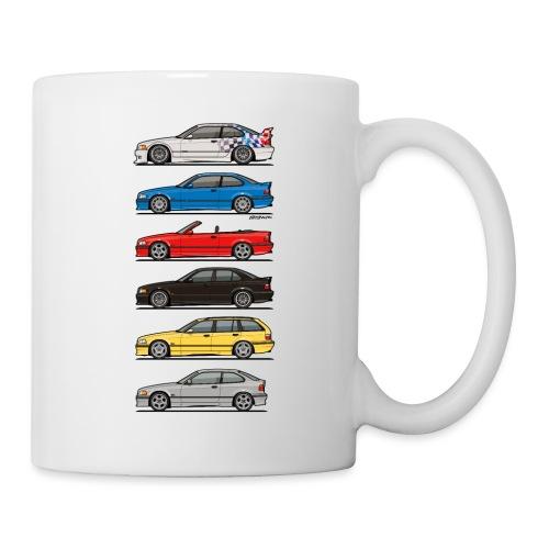 Stack of E36 Variants - Coffee/Tea Mug