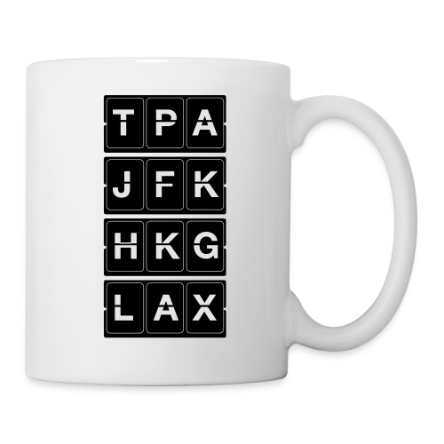 Catching Flights Tee - Coffee/Tea Mug