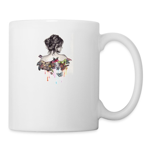 The love that surrounds her - Coffee/Tea Mug