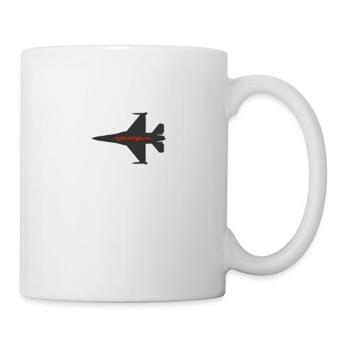 f 16 silhouette png - Coffee/Tea Mug