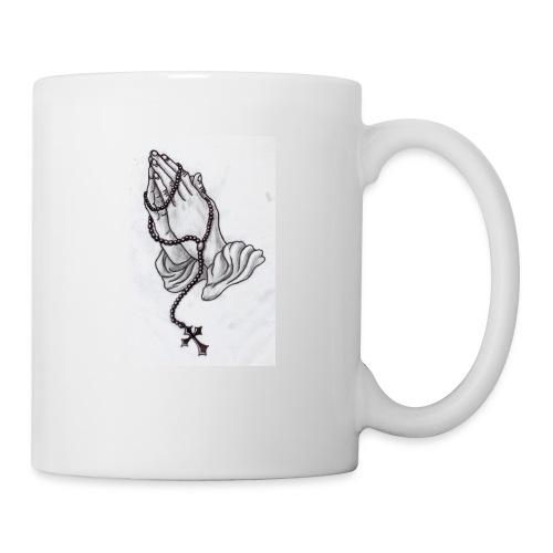 praying hands - Coffee/Tea Mug