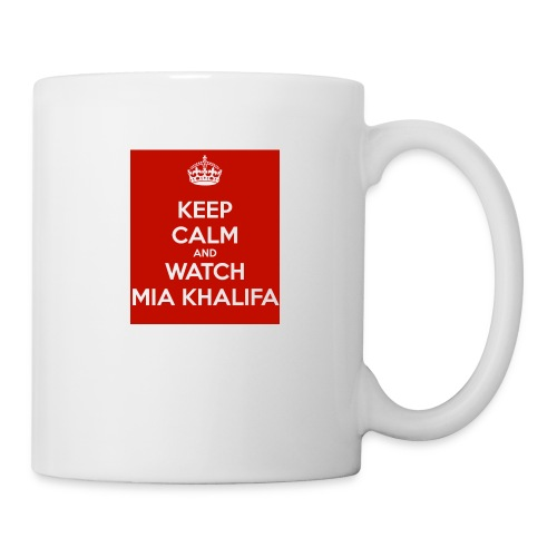 keep-calm-and-watch-mia-khalifa - Coffee/Tea Mug