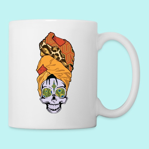 ERYKAH BADU SKULLY - Coffee/Tea Mug