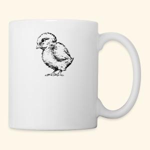 13292511551930773655Baby Chick Drawing svg hi - Coffee/Tea Mug