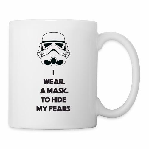 Storm Troopers Mask - Black Text - Coffee/Tea Mug