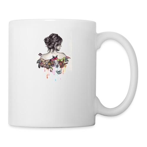 The love that surrounds her - Coffee/Tea Mug