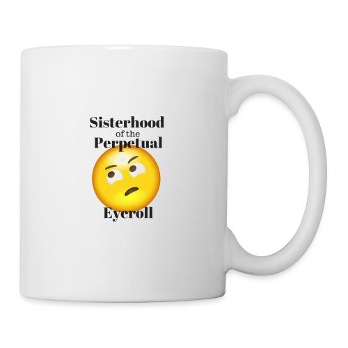 eyerollsisterhoodlogo - Coffee/Tea Mug