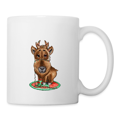 reindeer refined scribble - Coffee/Tea Mug