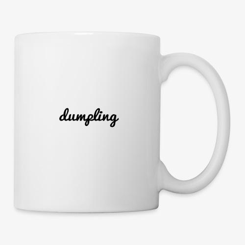 DUMPLING (BLACK) - Coffee/Tea Mug