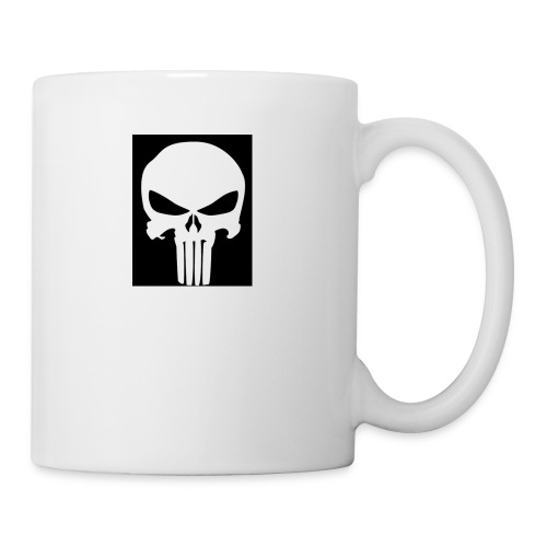 Gunshot skull - Coffee/Tea Mug