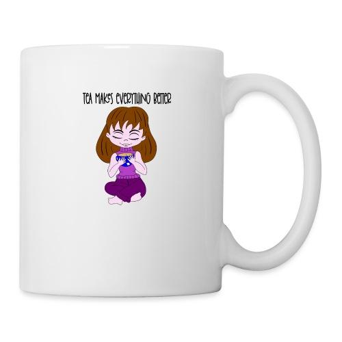 Tea makes everything better - Coffee/Tea Mug