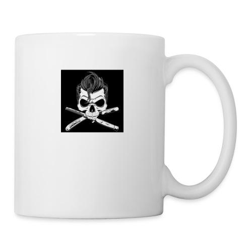 Greaser skull - Coffee/Tea Mug
