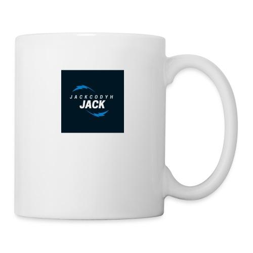 JackCodyH blue lightning bolt - Coffee/Tea Mug