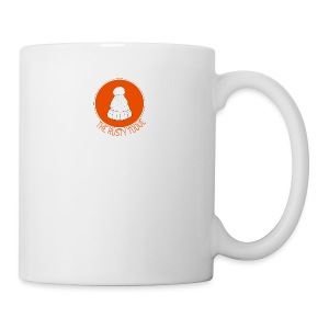 The Rusty Toque Dark Orange Logo Brand - Coffee/Tea Mug