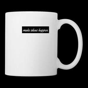 make ideas happen black - Coffee/Tea Mug
