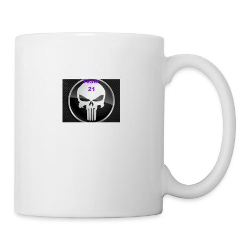Team 21 white - Coffee/Tea Mug
