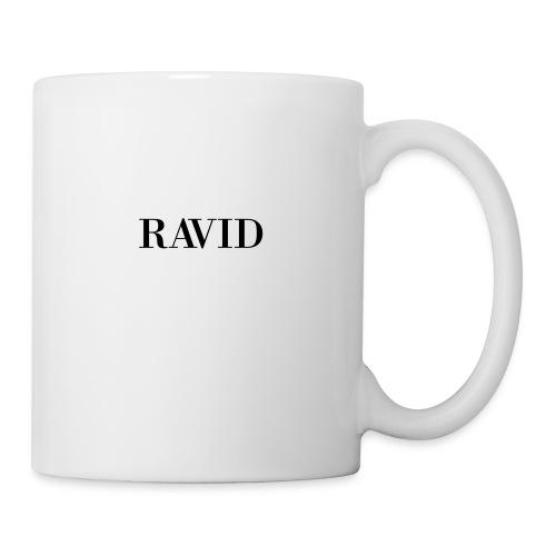 ravid_logo_black - Coffee/Tea Mug