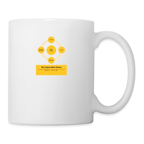 The Creatress Black Woman 1.0 - Coffee/Tea Mug