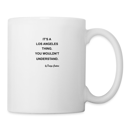 IT S A LOS ANGELES BLACK - Coffee/Tea Mug