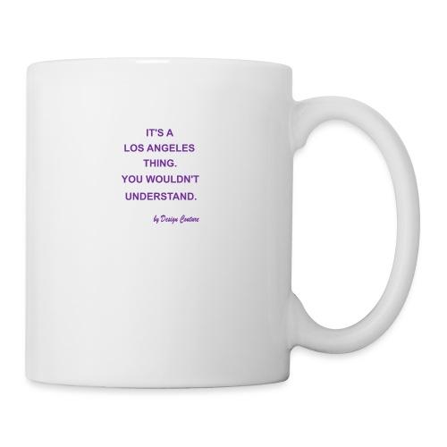 IT S A LOS ANGELES PURPLE - Coffee/Tea Mug