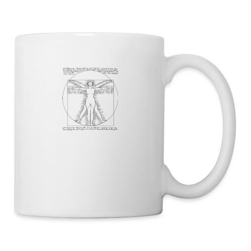 woman vitruvian - Coffee/Tea Mug
