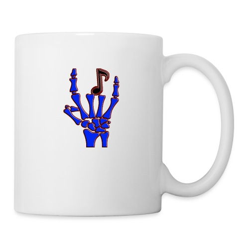 Rock on hand sign the devil's horns - Coffee/Tea Mug