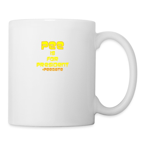 pee for president - Coffee/Tea Mug