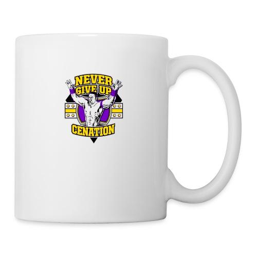Never Give UP CENATION - Coffee/Tea Mug