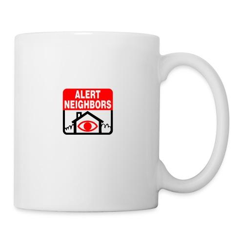 Alert Neighbors Logo - Coffee/Tea Mug