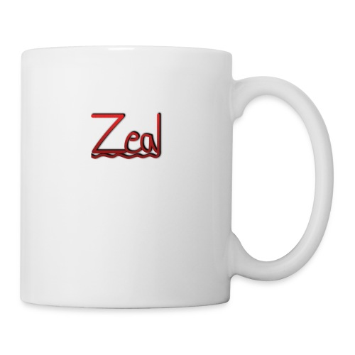Zeal Red Logo - Coffee/Tea Mug