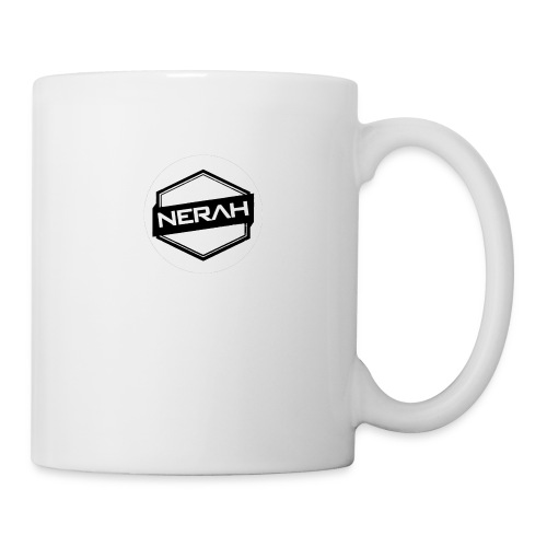 White Nerah Logo - Coffee/Tea Mug