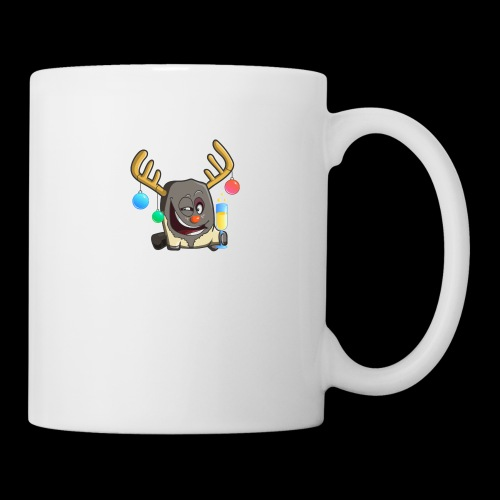 drunk reindeer - Coffee/Tea Mug